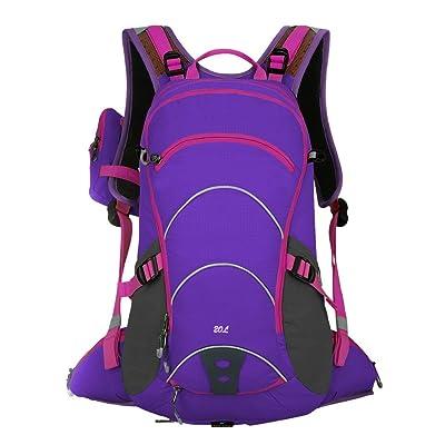 20L Sac à dos de randonnée Sports de plein air à dos en nylon pour ordinateur portable Sac à dos