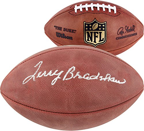 Terry Bradshaw Pittsburgh Steelers Autographed Duke Pro Football - Fanatics Authentic Certified - Autographed Footballs