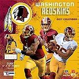 Turner Licensing Sport 2017 Washington Redskins Team Wall Calendar, 12''X18'' (17998011930)