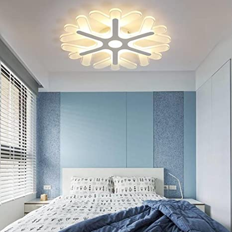 BiuTeFang LED plafoniera moderna personalità fiocco di neve luci per ...