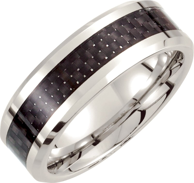 fashion c cobalt wedding band Mens Cobalt Chrome Laser Engraved Cross Wedding Band