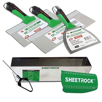 Amazon.com: USG Sheetrock Matrix – Juego de cuchillos para ...