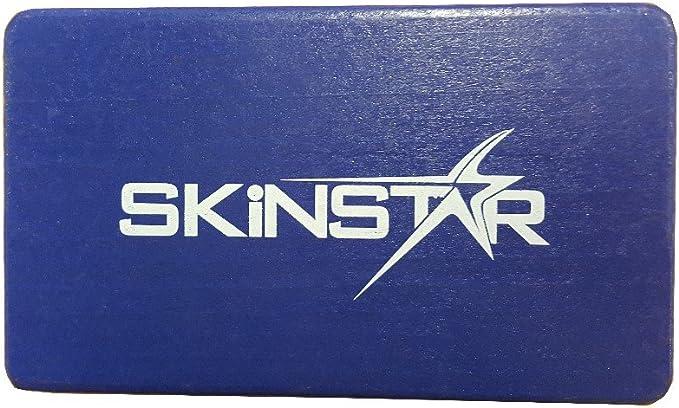 SKINSTAR Ski Belagsbürste BaseBrush Kupfer//Bronze Bürste gelb