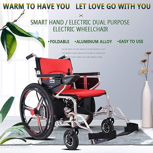 Amazon.com: SZeao - Silla de ruedas eléctrica multifunción ...