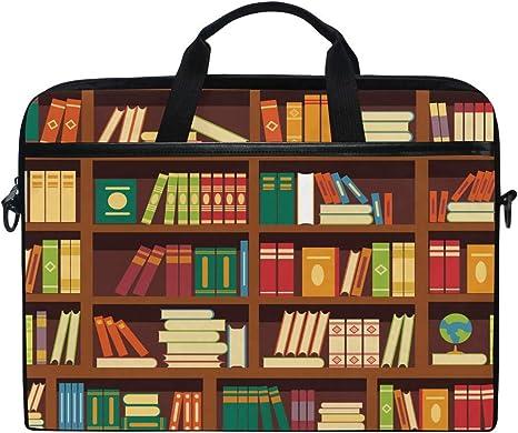 MacBooks Fits Most Laptops Bookshelf Zipper Sleeve Bag Cover