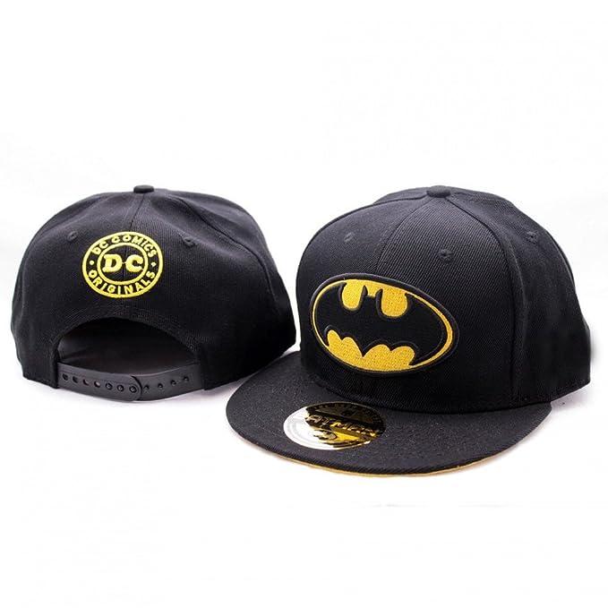 bef348aab42da Batman - Gorra de béisbol - Básico - para hombre Negro negro talla única   Amazon.es  Ropa y accesorios