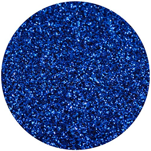 ROYAL BLUE GLITTER HEAT TRANSFER VINYL Sheet 12x36 Blue Glitterflex HTV for T-Shirts by Glitterflex
