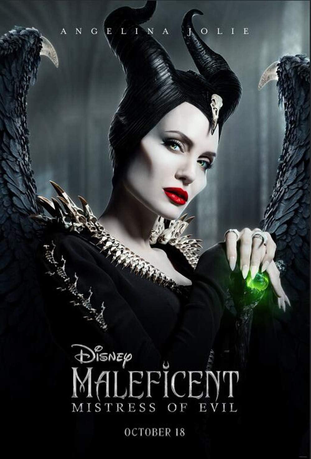 Amazon Com Tomorrow Sunny Maleficent Mistress Of Evil 2019 Movie Poster Joachim Ronning Angelina Jolie Art Print 24 X36 A Posters Prints