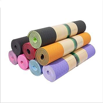 Doble Color Yoga Mat Alargando Body Building Mat ...