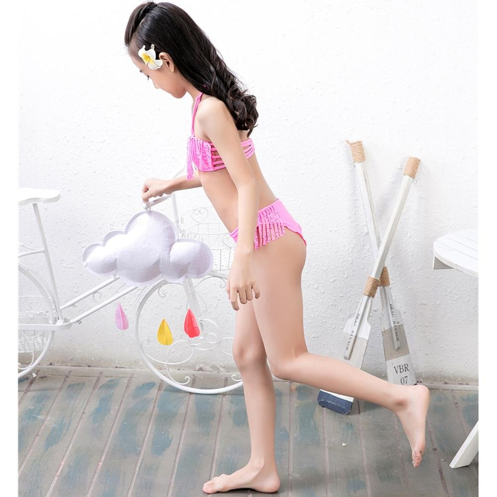 chinatera Little Girls Swimsuit Toddlers One Piece Swimwear Kid Girl Cute Pig Print Bathing Suit