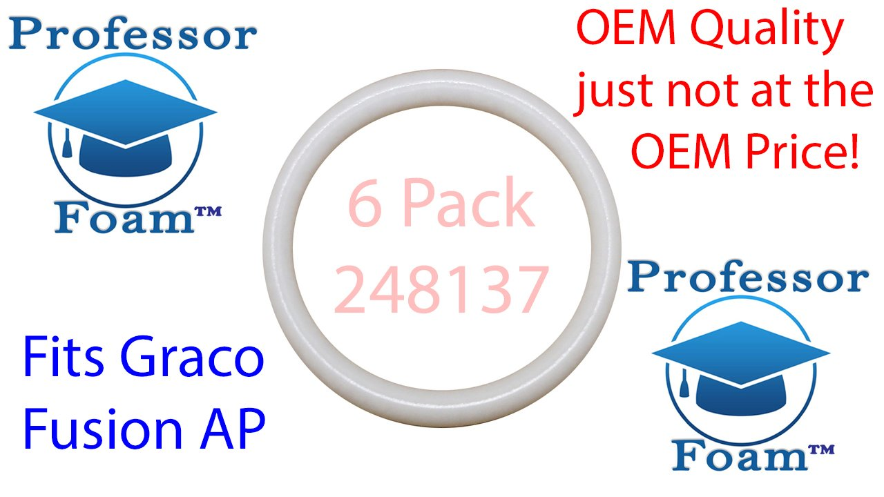 10PK GRACO FUSION AP O-RING COMPLETE REBUILD KIT *CHEAPEST PRICE OUT THERE*