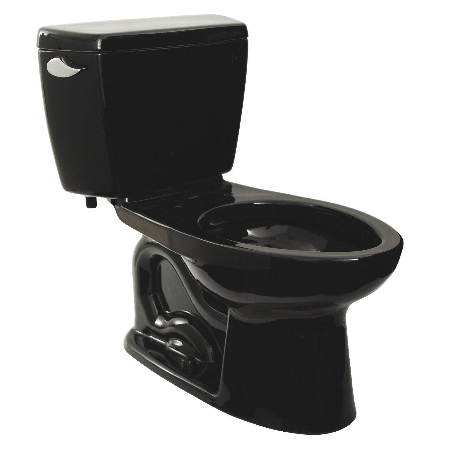 TOTO CST744EL#01 Drake 2-Piece Eco Ada Toilet with Elongated Bowl ...