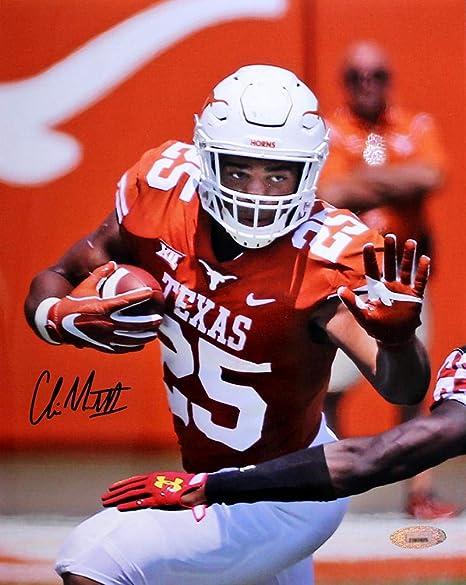 a4c12a03cd4 Autographed Chris Warren Photo - Texas Longhorns 8x10 - Autographed ...