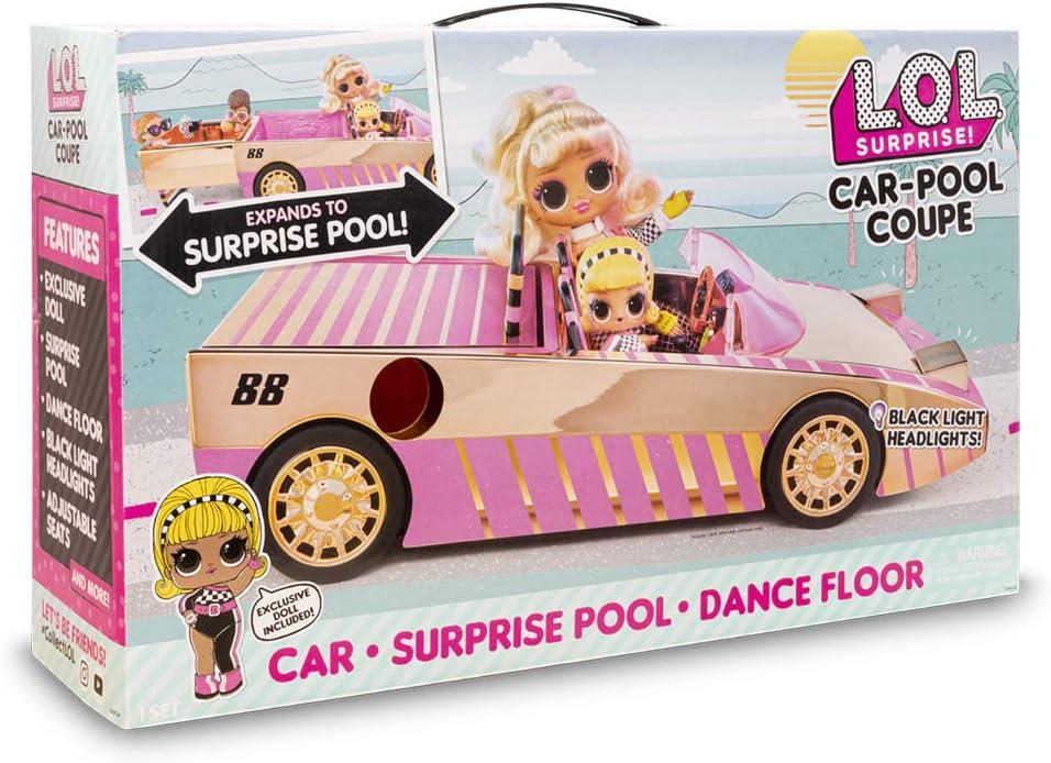 L.o.l Surprise car-pool COUPE-BAMBOLE AUTO CABRIO LOL OMG auto con luce-MGA