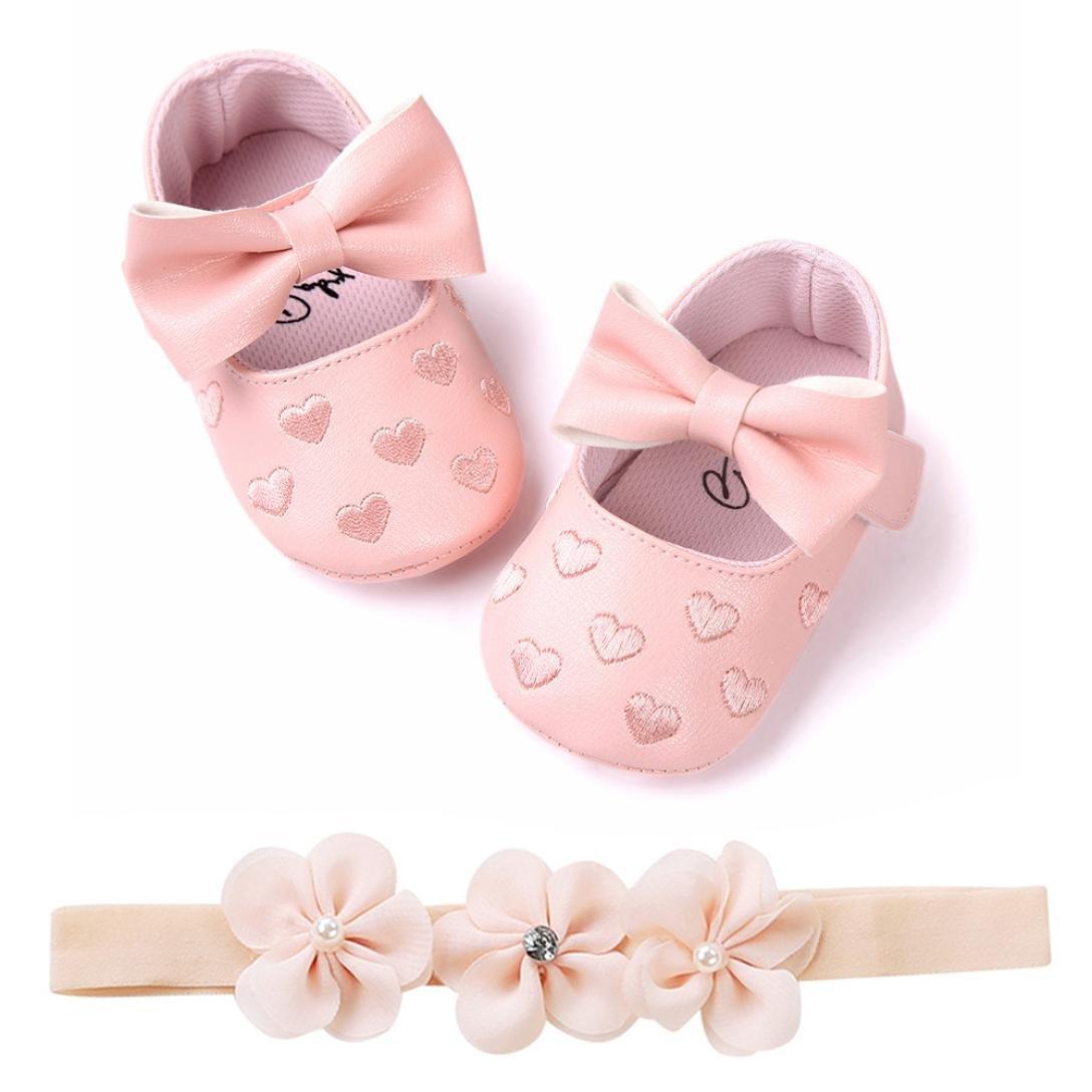 4eb58934c4af3 SamMoSon Scarpine neonato Scarpe da Bambino Ragazze Amare Ricamo Bowknot  Sneaker Shoes Sandali Primaver Scarpe Antiscivolo ingrandisci