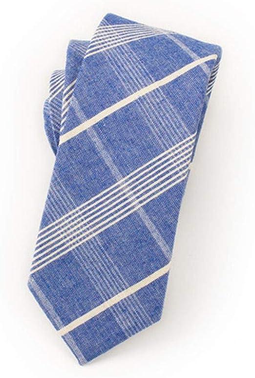 QEHWS Corbata Cotton Mens Ties Design Neck Ties Corbatas De Tela ...