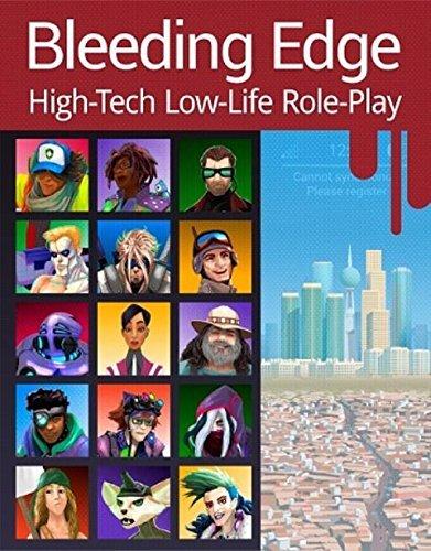 BLEEDING EDGE: High-Tech Low-Life Role-Play (SGP8001)