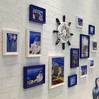 Hjky cornice set da parete mediterraneo decorazione pittura ...