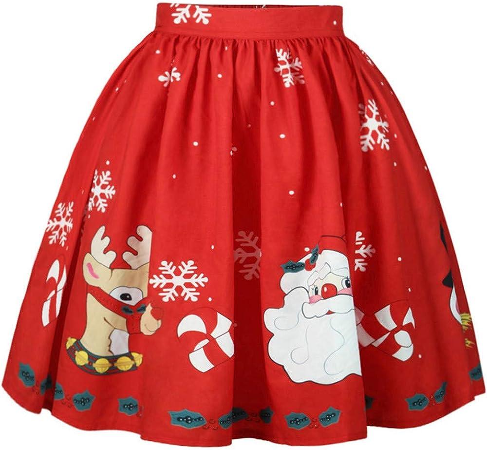 IMJONO De las Mujeres Sexy Navidad Falda Santa Copo de Nieve ...