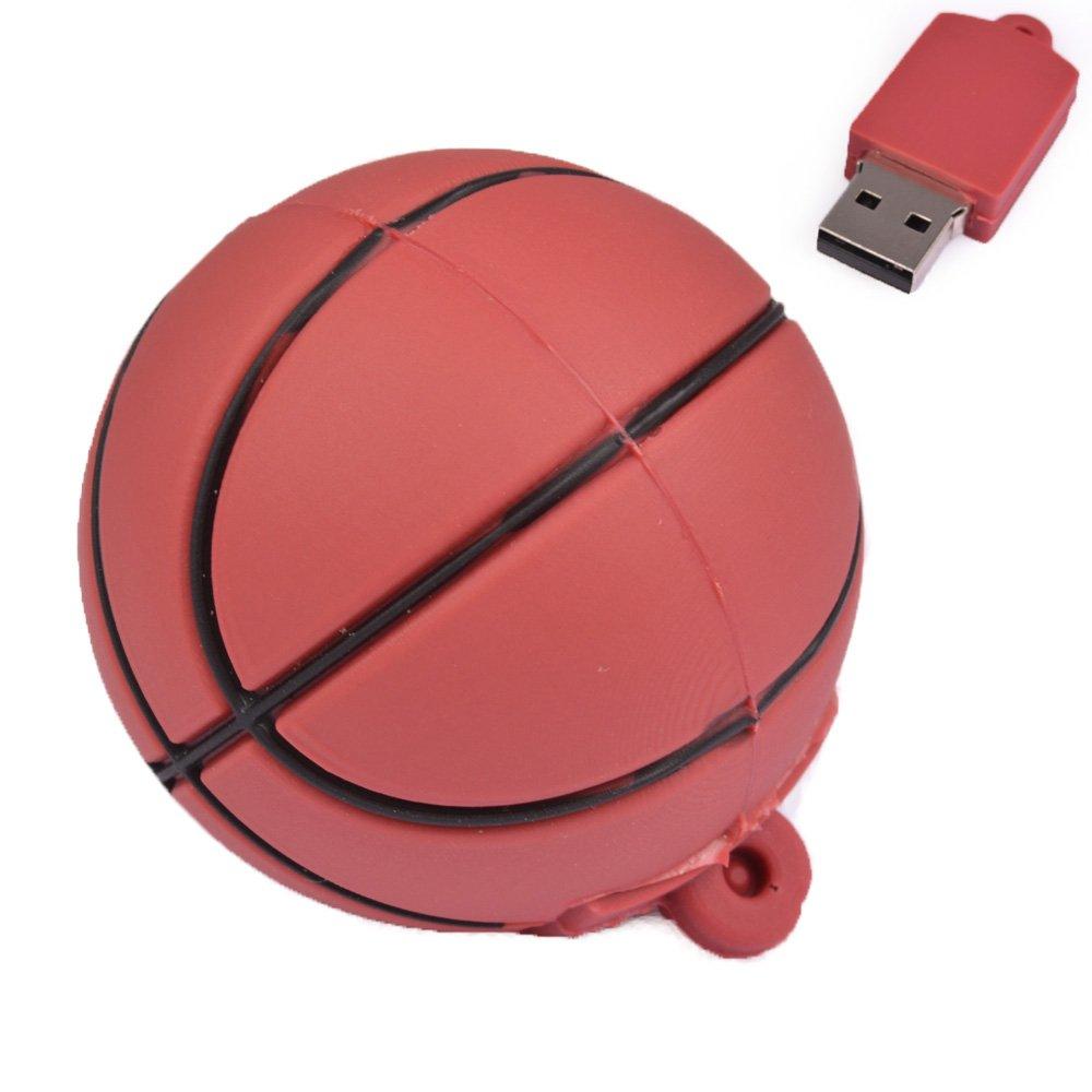Fives 8 GB memoria USB con forma de balón de baloncesto NBA marrón ...