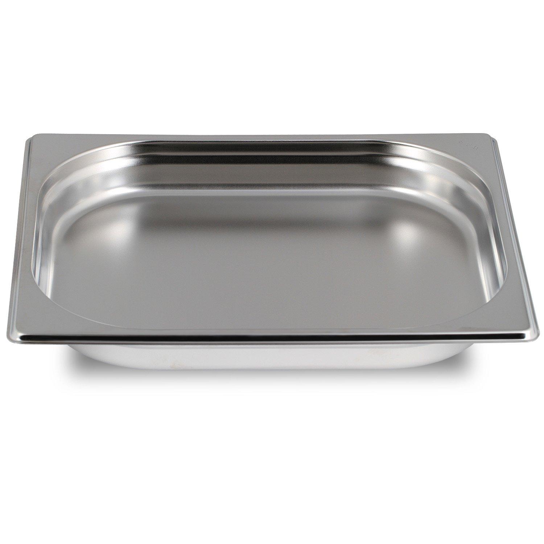 Greyfish Gastronorm 1/2 - Bandeja lisa para hornos de cocción al vapor Gaggenau, Miele y Siemens, 32,5 x 26,5 x 4 cm): Amazon.es: Electrónica