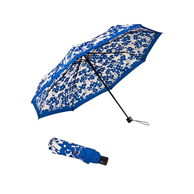 d4ce4c621ced boy Travel Umbrella Compact, UV Protection Windproof Folding Umbrella for  Women and Men, Floral/Camouflage