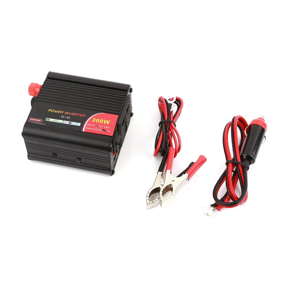 Portable DC12V /à AC220V transformateur Chargeur /électronique de Voiture Springdoit Adaptateur convertisseur de Voiture 300W