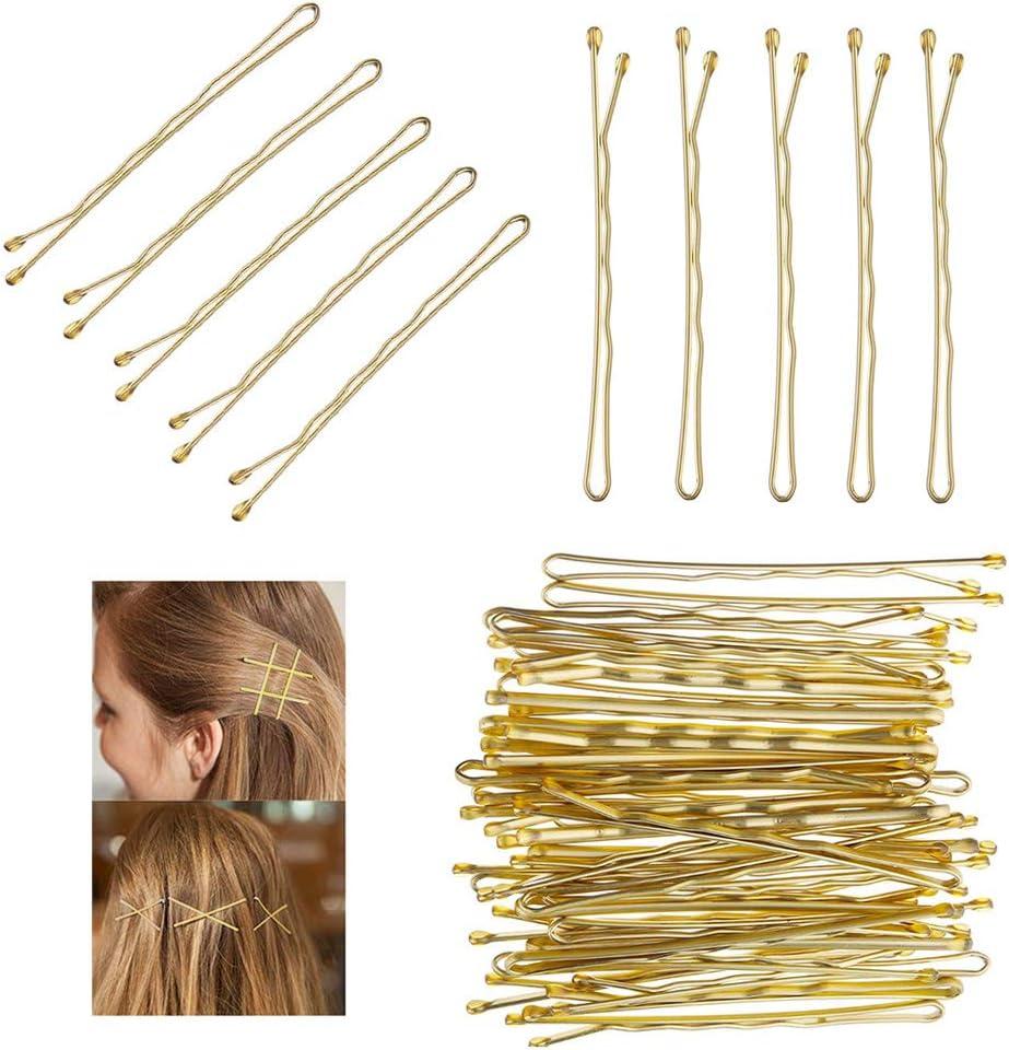 Pair Pretty Rhinestone Kirby Hair Grips Green Or Brown Pins// Hair Slides