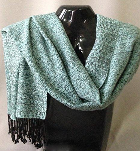 Handwoven Alpaca/Wool/Silk Shawl/Scarf by Whirlwind Designs