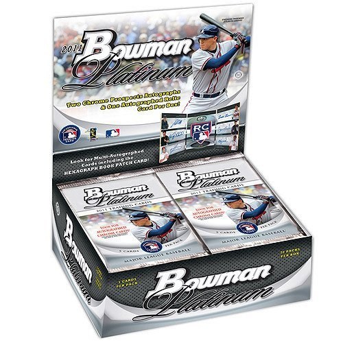 2011 Bowman Baseball Rookie Card - 2011 Bowman Platinum Baseball Hobby Box