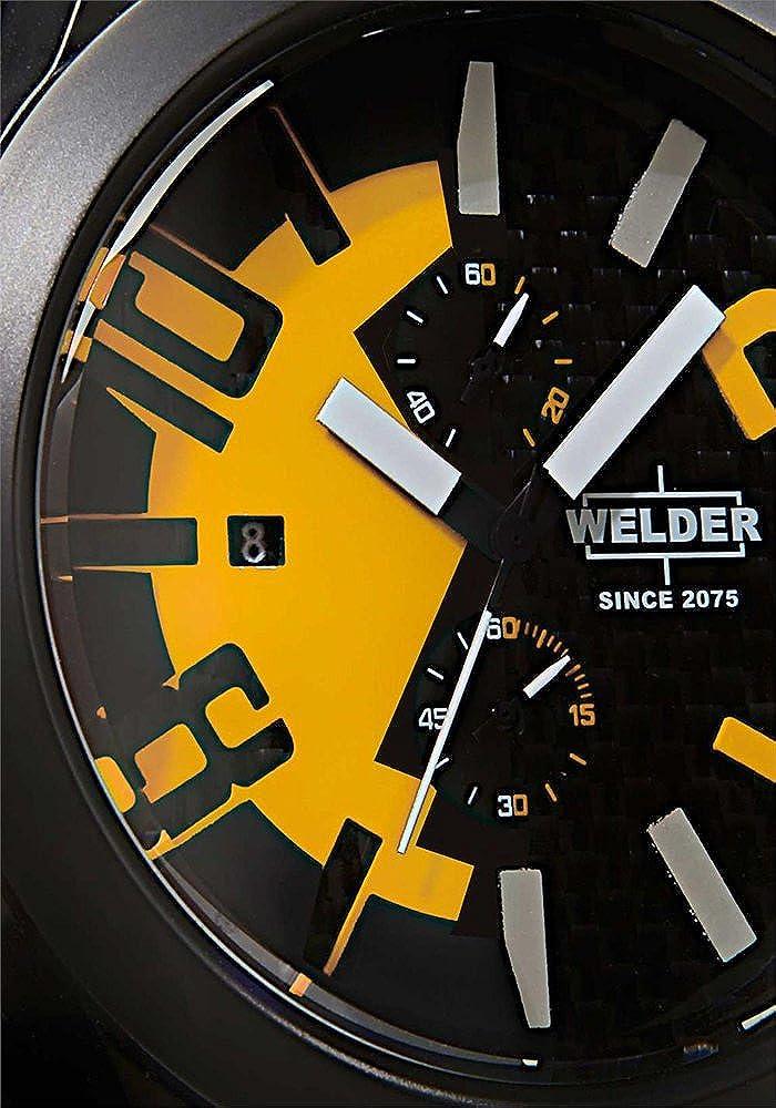 ウェルダー Welder Unisex 2502 K35 Oversize Chronograph Watch 女性 レディース 腕時計 【並行輸入品】