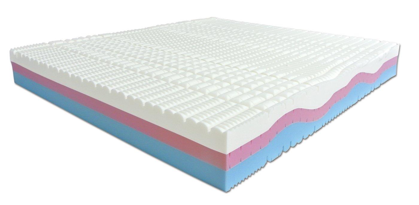 Materasso Matrimoniale Memory Foam 3 strati Sweet Armony - 190 x ...