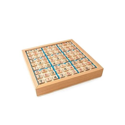 GLJJQMY Juego De Sudoku De Madera, Lógica para Adultos ...