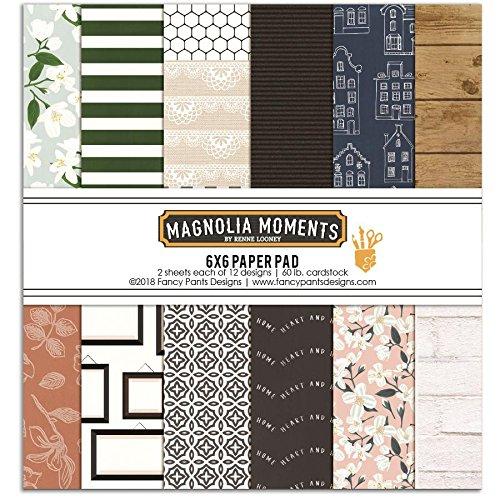 - Fancy Pants Magnolia Moments 6x6 Paper Pad