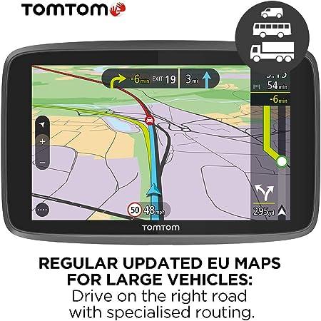 Tomtom 1pn6 002 06 Go Professional 620 Navigation Black Navigation Car Hifi