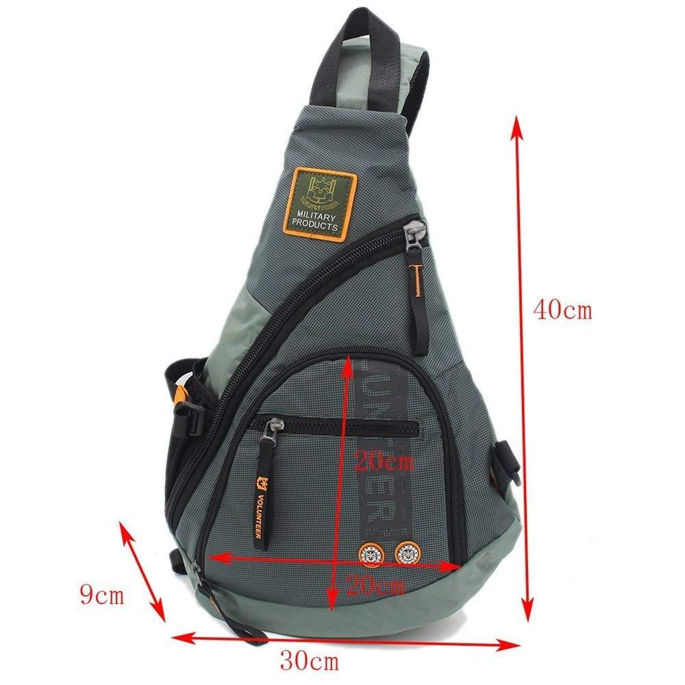 Camping & Hiking Women Men Single Shoulder Messenger Chest Bag Outdoor Travel Military Cross Body Bags Sling Rucksack Back Pack Climbing Bags