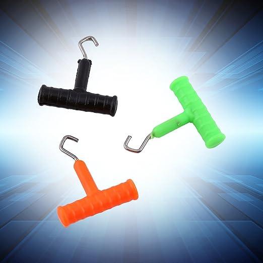 5x Knot Rig Puller Knot Tester Spanner Carp Terminal Tackle für Haar Rig