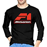 ZaHome Mens Mclaren-International Print Graphic Long Sleeves Baseball Uniform Jacket Sport Coat
