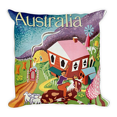 vintage-poster-australia-square-pillow-case-w-stuffing