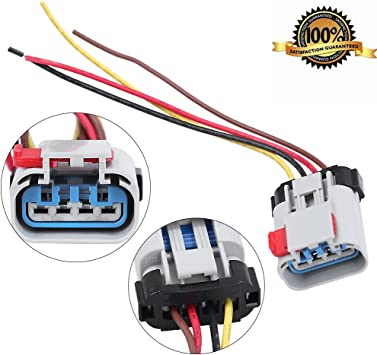 [ZTBE_9966]  Amazon.com: Pigtail Fuel Pump Connector Wiring Harness Replaces for  Chevrolet DODGE Pontiac: Automotive | Wiring Diagram Pigtails For Automotive |  | Amazon.com