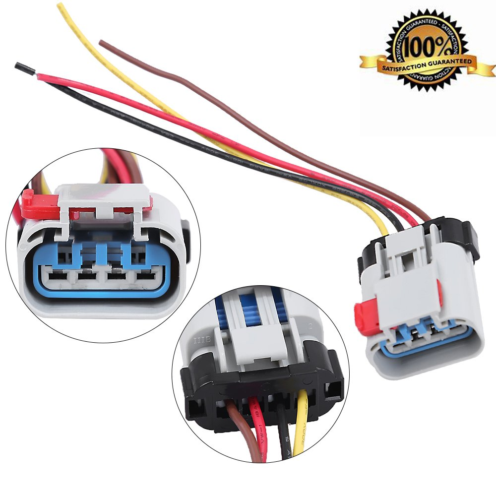 amazon com pigtail fuel pump connector wiring harness fit for  amazon com pigtail fuel pump connector wiring harness fit for chevrolet chrysler dodge pontiac automotive