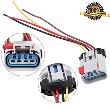 amazon com pigtail fuel pump connector wiring harness fit for Chevy Fuel Pump Wiring Diagram pigtail fuel pump connector wiring harness fit for chevrolet chrysler dodge pontiac