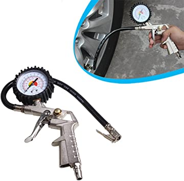 Tire LCD Digital Pressure Gauge Car Cycle Air Deflators Tire Cores Tool Accuracy