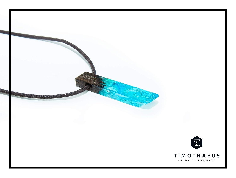 Anh/änger mit Harzkristall Halskette Timothaeus Mermaid Small