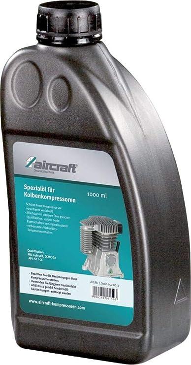 Airkraft - Aceite especial para compresores 1 l: Amazon.es: Bricolaje y herramientas