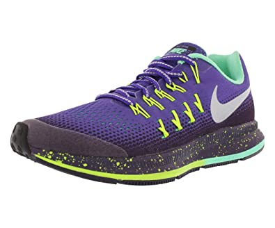 best service df583 bcd35 Amazon.com | Nike Zoom Pegasus 33 Shield Running Girls Shoes ...