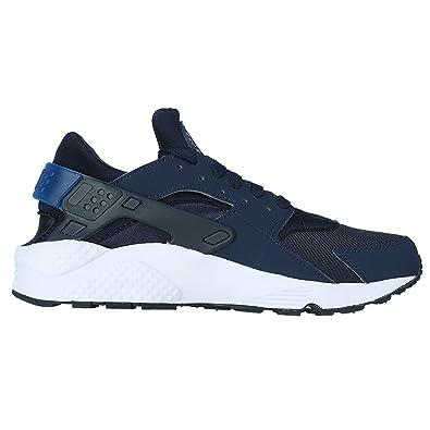 a1681bb1bb5 Nike Air Huarache Men s Shoes Mid Navy Obsidian-Gym Blue 318429-444 Sz