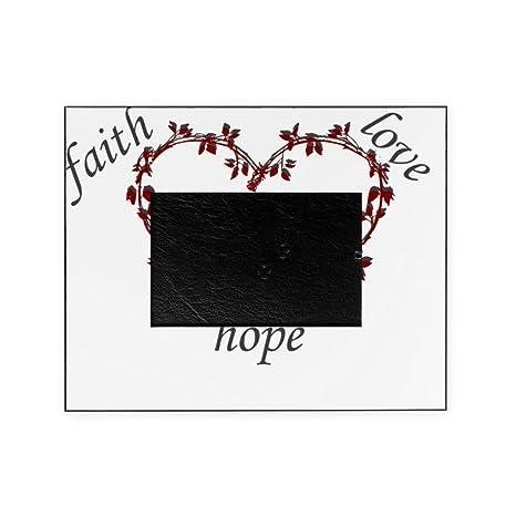 Amazoncom Cafepress Faith Hope Love Decorative 8x10 Picture