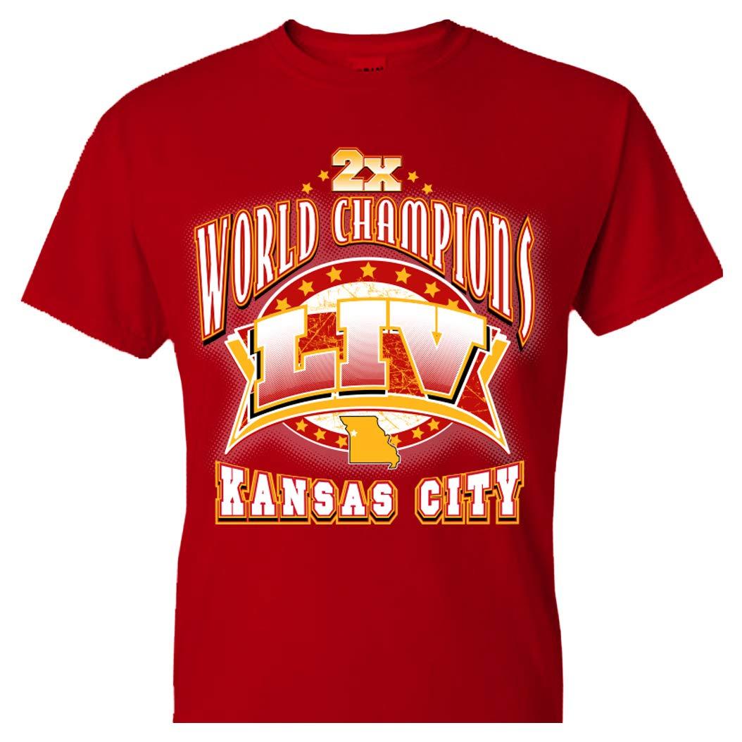 Kansas City Football 2020 Liv Champions Shirts