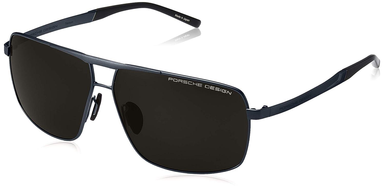 Amazon.com: Porsche Design P8658 A - Gafas de sol (titanio ...